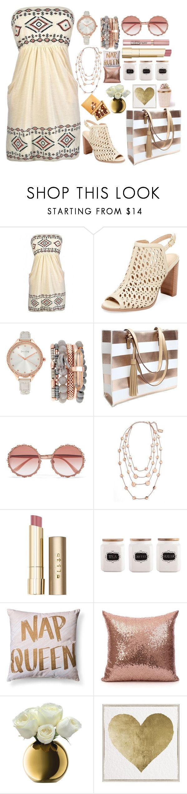 """South Western Summer"" by pulseofthematter ❤ liked on Polyvore featuring Renvy, Jessica Carlyle, Dolce&Gabbana, L'Oréal Paris, Karine Sultan, Stila, Lindt, LSA International, Oliver Gal Artist Co. and Jay Strongwater"