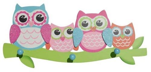 Hooks - Colour Owls $24