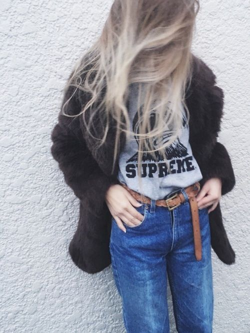 564aac540f16 Lily Supreme のTシャツ・カットソーを使ったコーディネート   My WEAR   How to wear、Jackets、Denim
