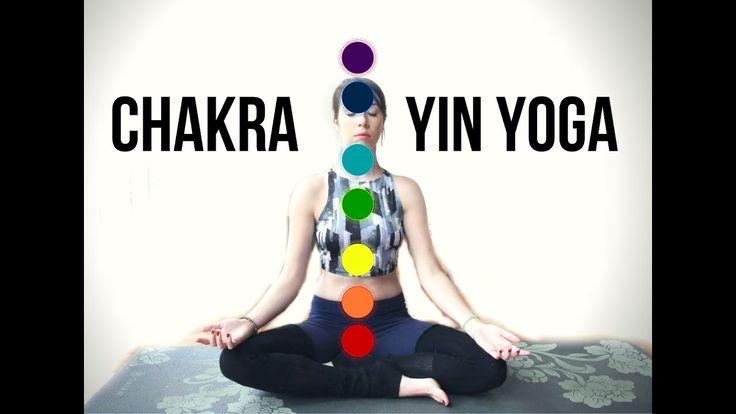 Chakra Yin Yoga - Energy Balance Yin Yoga {75 min}
