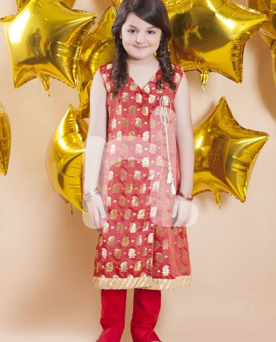 Kids Winter Dresses Collection By Nishat (2)