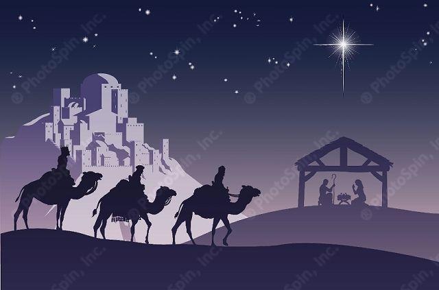 Religious Christmas Scenes | ... Free Stock Photo of Christian Christmas Nativity Scene: PhotoSpin