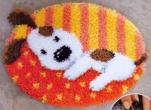 Вышивка ковров
