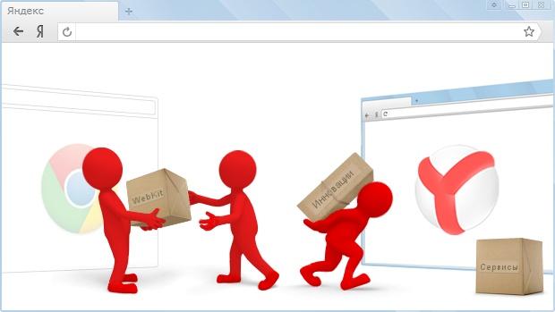 #Google #Chrome #Yandex #Browser