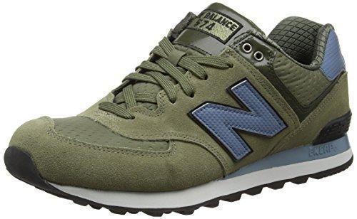 Oferta: 156.1€ Dto: -40%. Comprar Ofertas de New Balance 574 Zapatillas de Running, Hombre, Multicolor (Green/Blue 344), 43 EU barato. ¡Mira las ofertas!