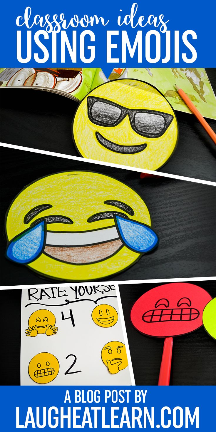 Are you and your students in love with Emojis? Me too! I'm created a list of fun emoji products, resources for writing, classroom decor ideas, and much more perfect for any classroom who loves these silly emoticons. You can even grab the free printable to get your emoji themed writing center together for back to school!