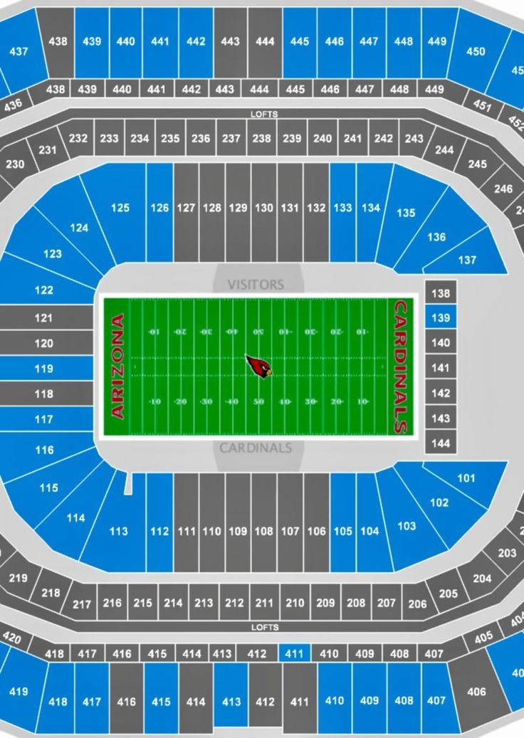 AZ CARDINALS VS. SF 49'ers @ University of Phoenix Stadium on SUNDAY, October 1st...SECTION 105. Great Seats. x4 seats or will sell x2 seats if i can find two different buyers needing two seats. All seats are together.  in Chandler - letgo