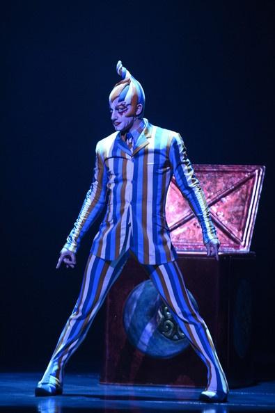 Cirque Du Soleil acrobats perform during the dress rehearsal of Cirque Du Soleil…