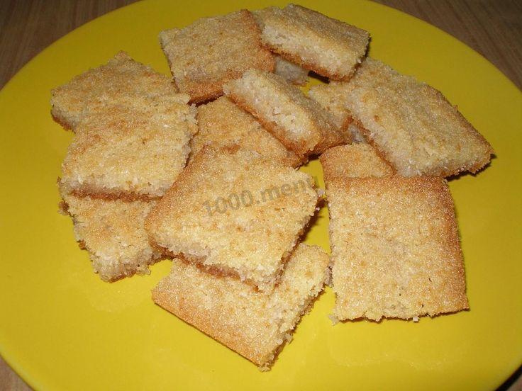 Вкусный пирог на манке с кокосовой стружкой!