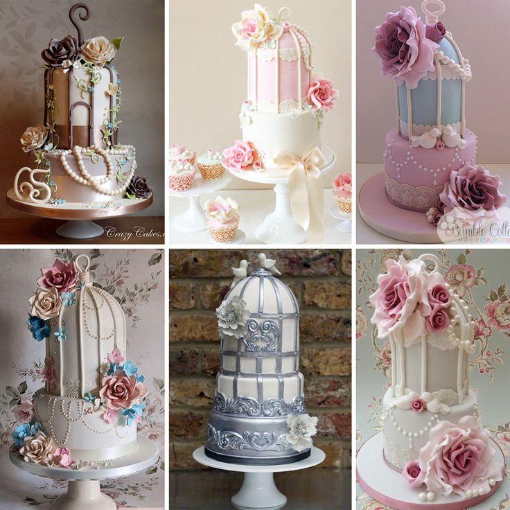 Kuş kafesidüğün pastaları sıradışı ve romantik çiftlerimiz için ideal bir seçim olabilir.