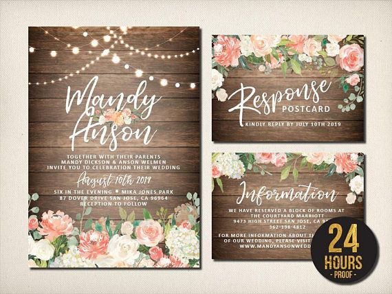 250 best Wedding Invitations Suite images on Pinterest