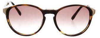Chloé Tortoiseshell Folding Sunglasses