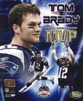 Tom Brady - Super Bowl XXXVIII MVP Champions Collection (limited Edition) Fine Art Print