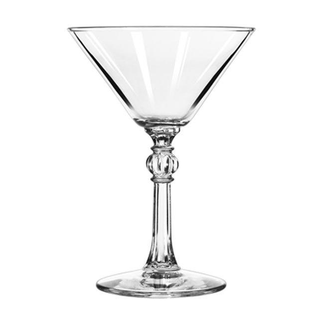 Γυάλινα ποτήρια με εντυπωσιακά, ιδανικά για σερβίρισμα κοκτέιλ, στυλ Vintage. Πλέντονται στο πλυντήριο πιάτων.