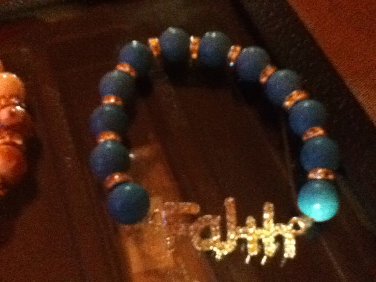 Faith turquoise silver