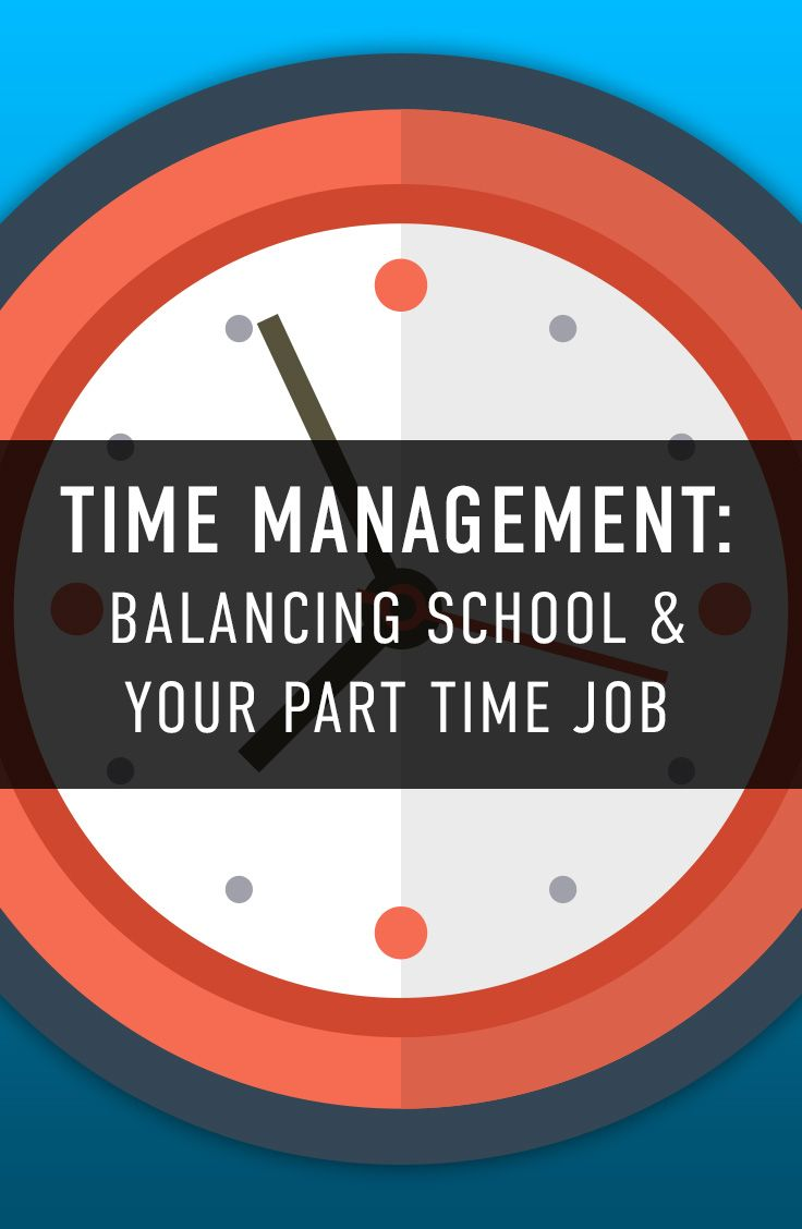 Time management for college students - Time Management Balancing School And Your Part Time Job The College Juice