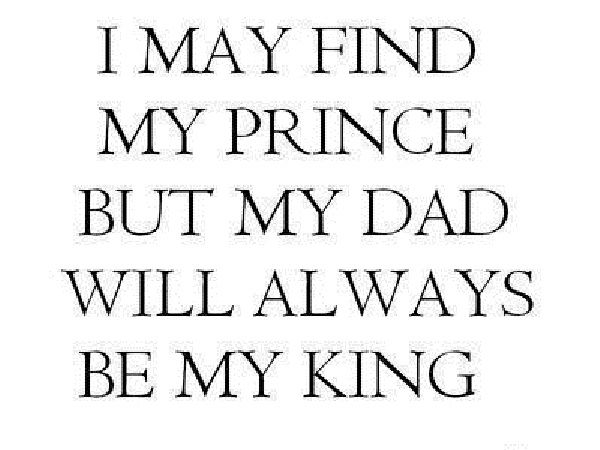 daughter in law quotes and sayings | Dad Will Always Be My King » GagThat