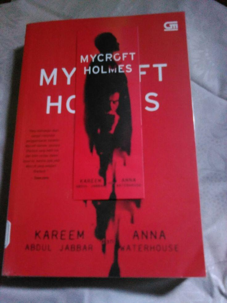 Mycroft Holmes by Kareem Abdul Jabar #book #holmes