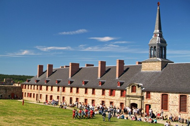 Fortress of Louisbourg National Historic Site of Canada  Cape Breton Island N.S.