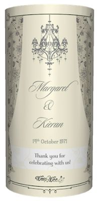 Personalised Wine Label for the happy on their Wedding Day! Change a regular bottle of wine into a very Special Gift. Available from WowWee.ie: €8.99