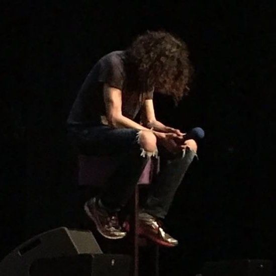 """32.3k Likes, 353 Comments - Dan (@danny__avidan) on Instagram: """"My reaction every time someone at our shows asks Arin to do the """"Joke Yoda"""" voice"""""""