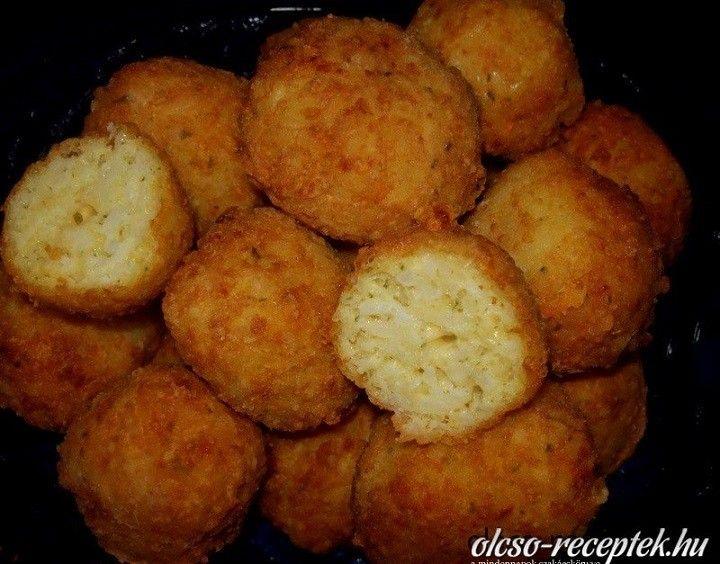 Sajtos sült rizsgolyók recept - MindenegybenBlog