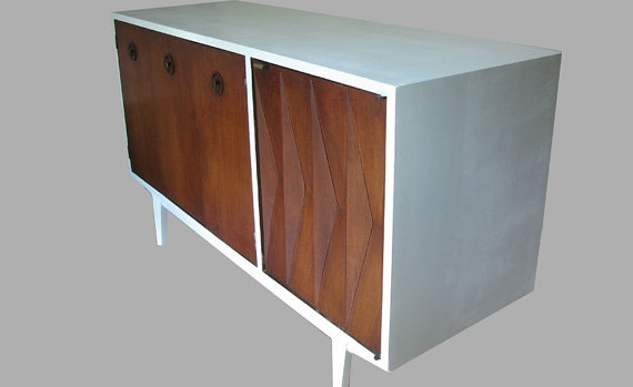 Beautiful solid Wood Media Cabinet
