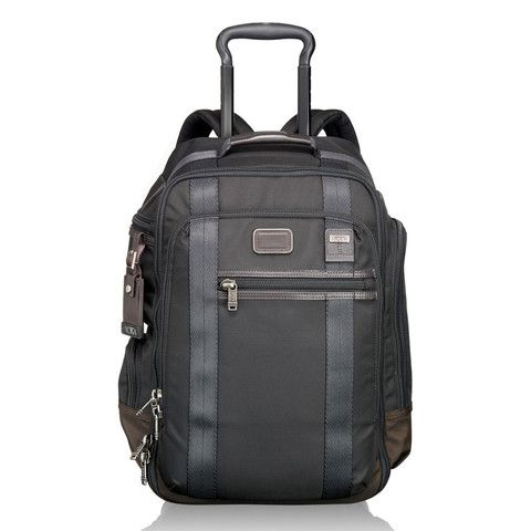 TUMI - NEW! Peterson Wheeled Backpack - Alpha Bravo Collection #EdwardsEverythingTravel