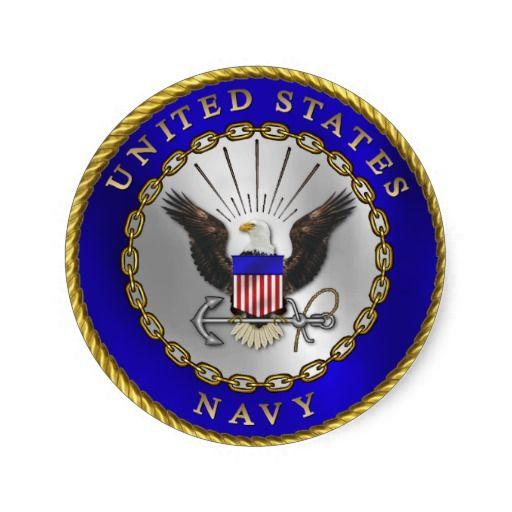 U.S. Navy Emblem Sticker