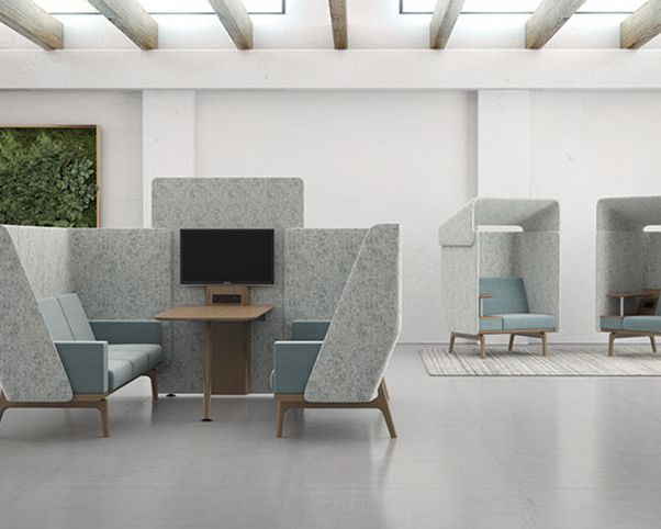 Furniture Collections For Collaboration OFS Brands Heya Silver Award NeoCon NeoCon2017