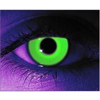 contact lenses that glow in blacklight