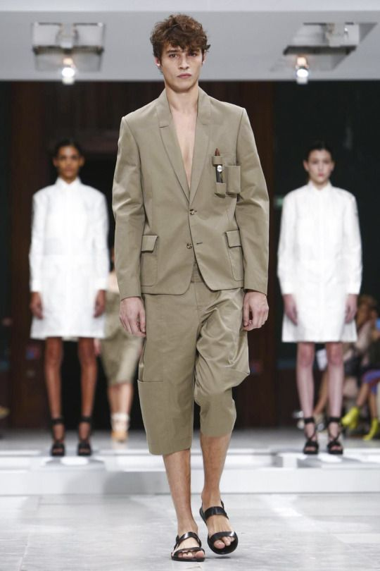 Adrien Sahores at Hussein Chalayan SS16