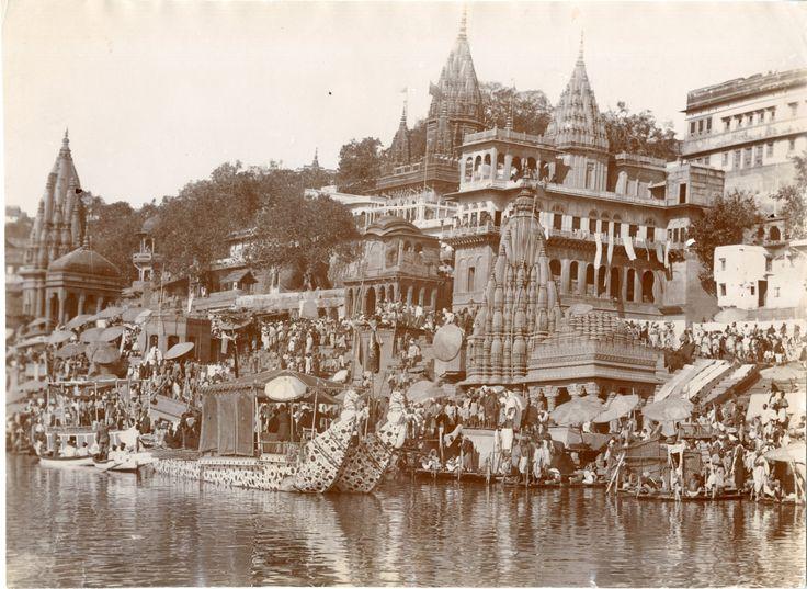 India, Ghats of Bénarès, Vanarasi     #Asie_Asia #Inde_India