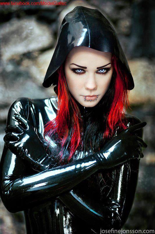 Goth, gothic, dark, latex                                                       …