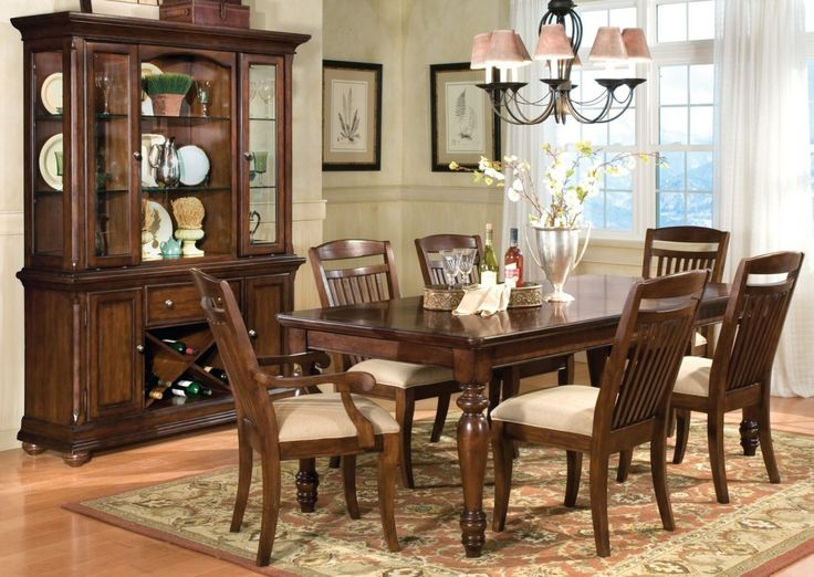Wonderful Ashley Furniture Dining Room Sets With Dark Wood  : a60e06425a152020959acc9fc172741f from www.pinterest.com size 736 x 522 jpeg 79kB