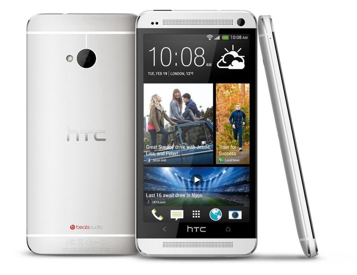 NEW HTC One M7 - 32GB - Silver (Unlocked) Smartphone BEST PHONE #HTC #TouchScreen