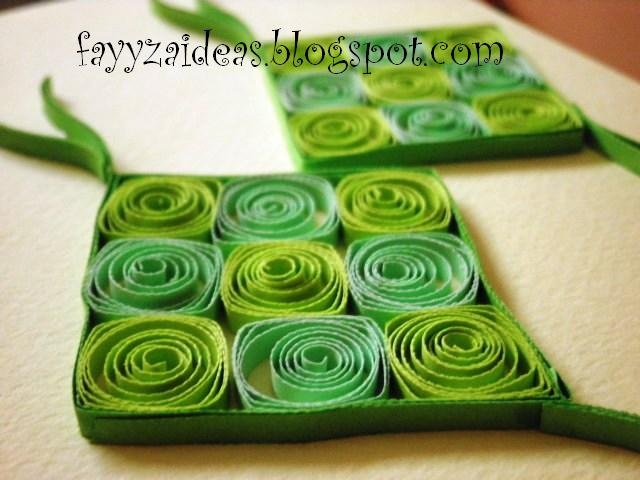it's a quilled ketupat :)