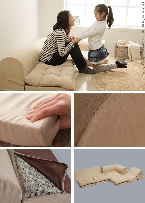 Good thing | Rakuten Global Market: Free-style low sofa RelaQua [リラクア] floor sofa living sofa corner sofa
