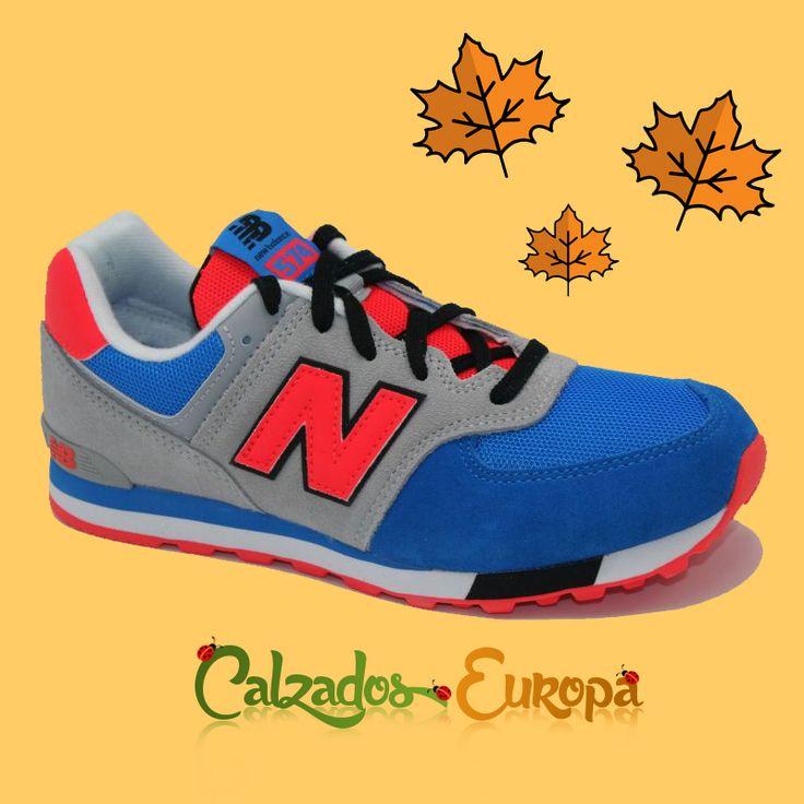 Nuevo modelo deportivo niño o niña en Azul New Balance disponible en nuestra tienda online: https://goo.gl/e9195m ---------------------------------------  NOTA: Si tienes dudas con las tallas disponemos de la guía de equivalencias de tallaje europeo.