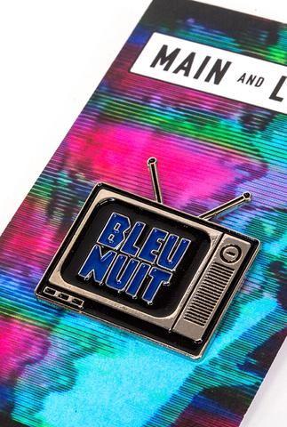Bleu Nuit Pin - Main and Local