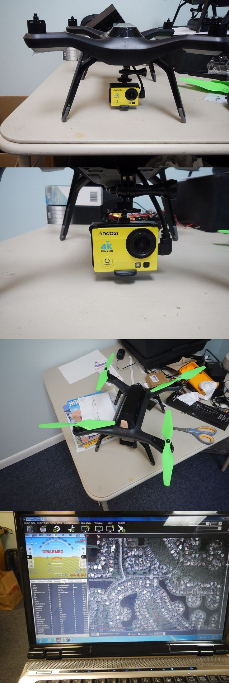 Other RC Model Vehicles and Kits 182186: 3Dr Solo Drone Complete Kit -With 12 Mp Dvr Camera !!! Ready To Fly -> BUY IT NOW ONLY: $275 on eBay!