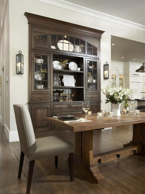 Dining room buffet design built in dining room pinterest for Dining room built ins ideas