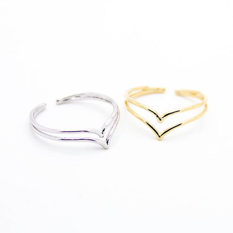 Double chevron ring – Imsmistyle.