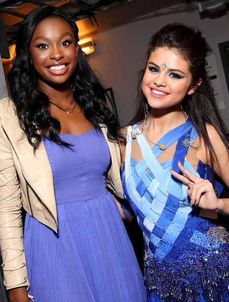 Selena Gomez Photos Photos - Actresses/Singers Coco Jones (L) and Selena Gomez attend the Minnie Gifting Lounge during the 2013 Radio Disney Awards at Nokia Theatre L.A. Live on April 27, 2013 in Los Angeles, California. - Minnie Gifting Lounge At The 2013 Radio Disney Awards