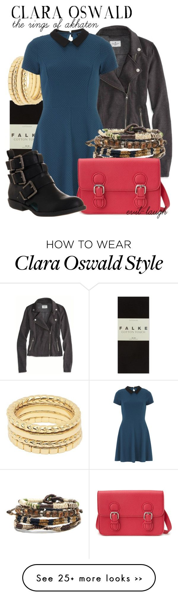 """Clara Oswald -- Doctor Who (The Rings of Akhaten)"" by evil-laugh on Polyvore"