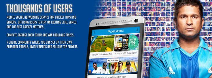 khelmobile. No 1 cricket site in India
