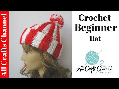 How to Crochet Video: Free Hat Pattern for Scrap Yarn - Baby to Boomer Lifestyle