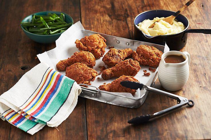 Buttermilk Fried Chicken with Mash