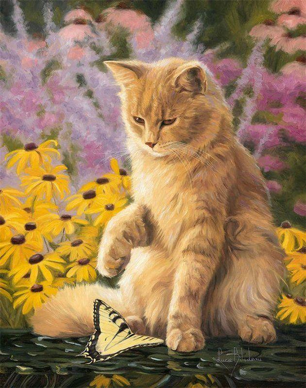 Картинки красивые с котятами кошками нарисованные, для открыток почтовые