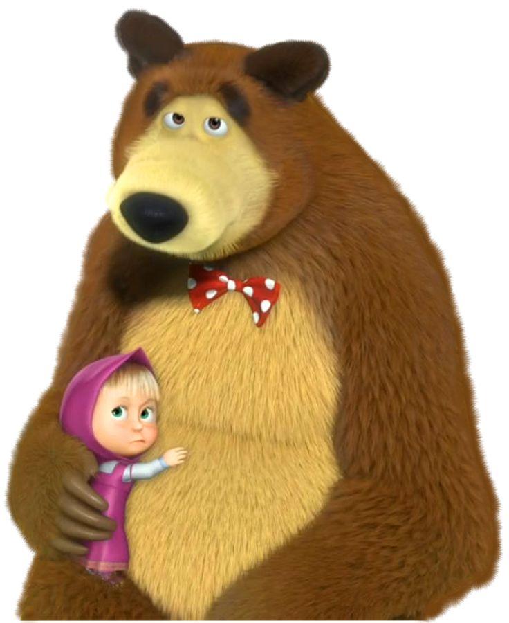 Герои мультфильма маша и медведь в картинках, для